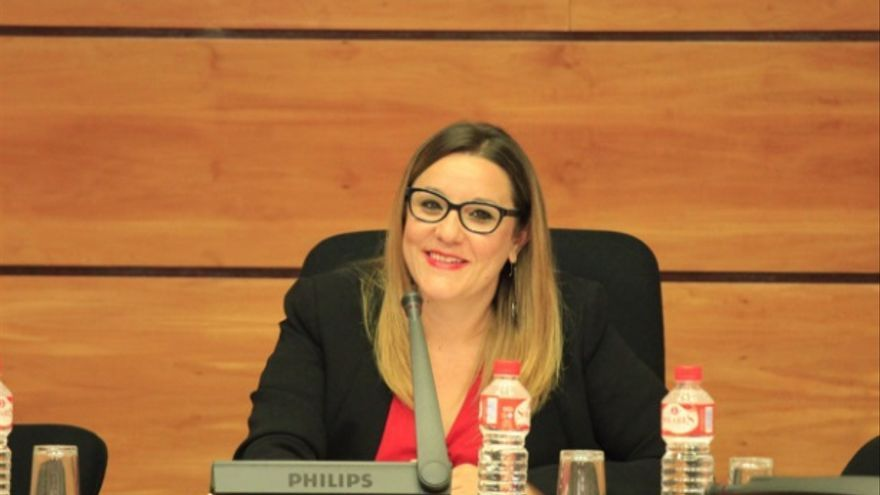 María Díaz, diputada de Podemos