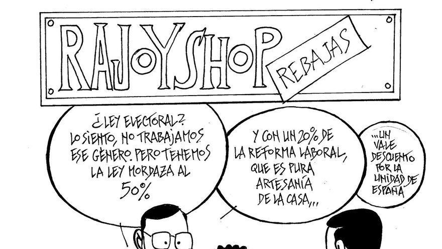 Rajoy está de rebajas