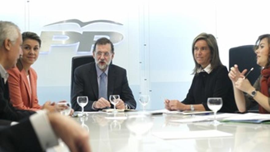 Comite De Dirección Del PP Con Mariano Rajoy