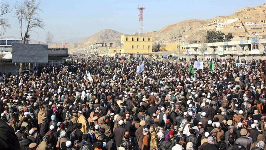 La supuesta profanación de un Corán por la OTAN causa protestas en Afganistán
