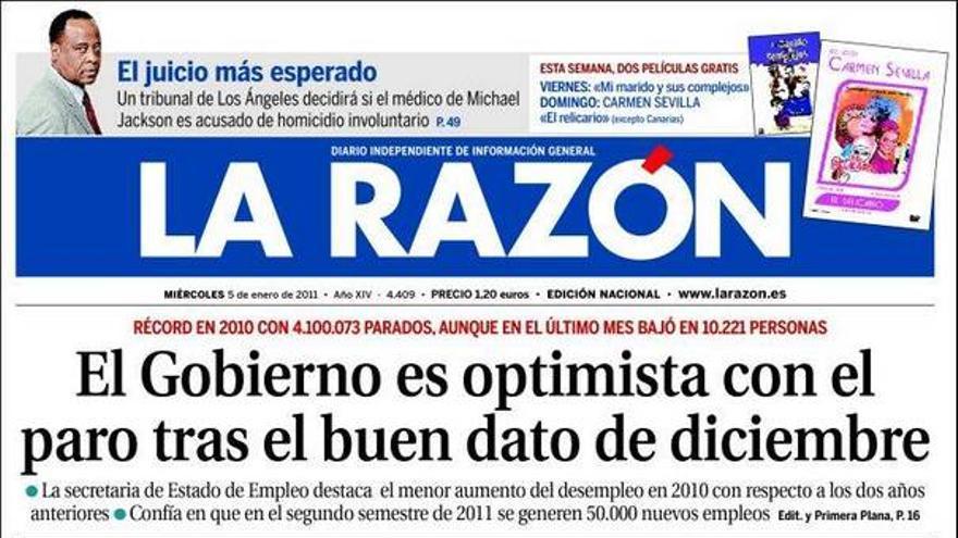 De las portadas del día (05/01/2011) #9