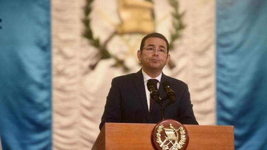 Jimmy Morales señala a quienes buscan la división política de no amar al paísCORRUPCIÓN