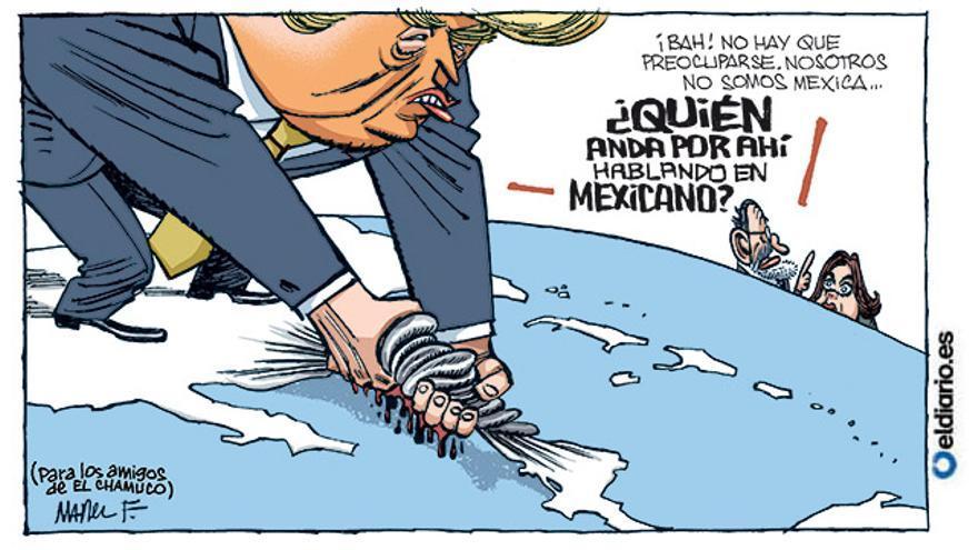 Trump contra México
