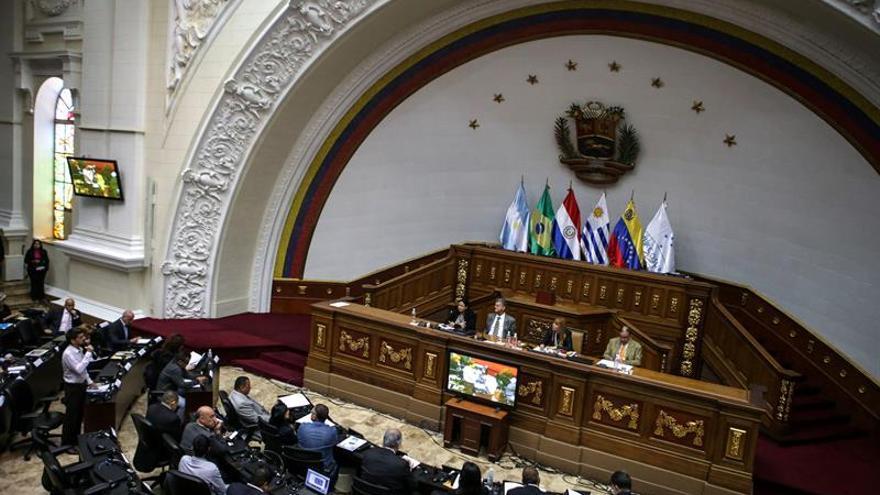 El Parlamento venezolano rechaza la prórroga del decreto de emergencia económica