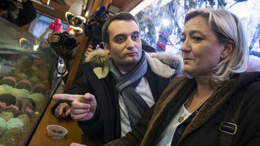 Le Pen: La salida del número dos del FN no implica un cambio de línea ideológica
