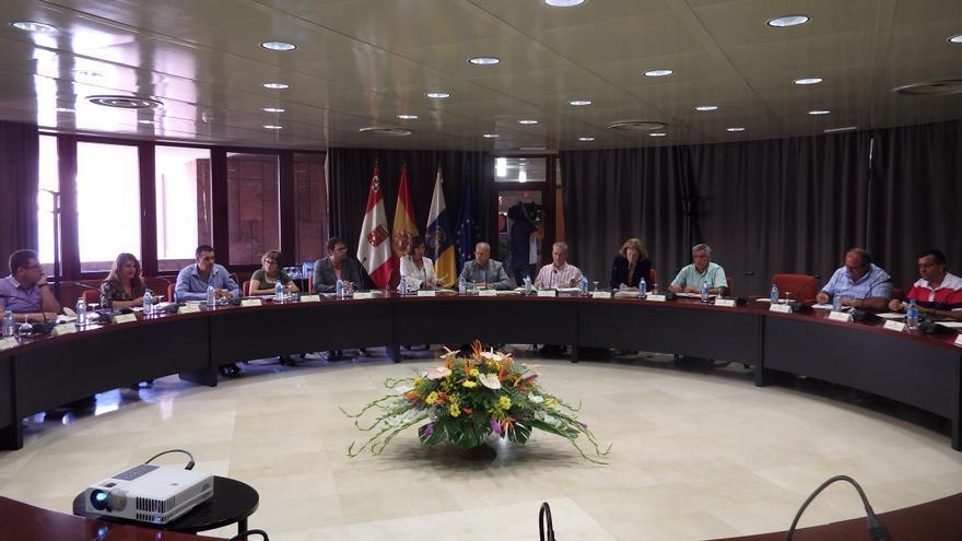 Consejo científico y consejo rector del Cabildo de La Gomera en el cuarto aniversario de la Reserva de la Biosfera