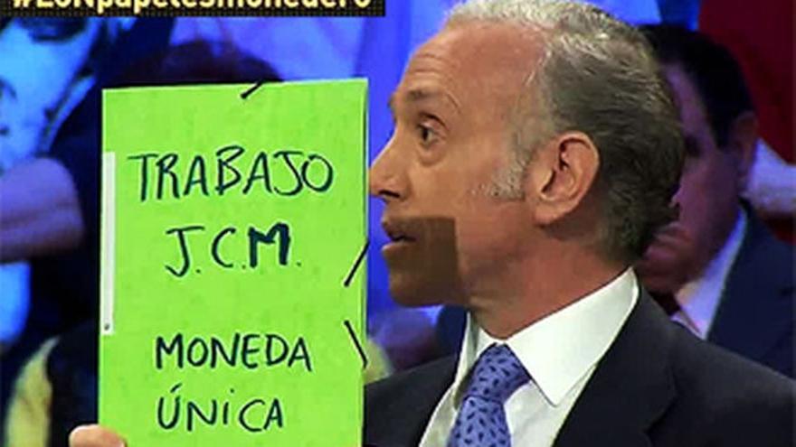 Eduardo Inda, en el debate La Sexta Noche de La Sexta.