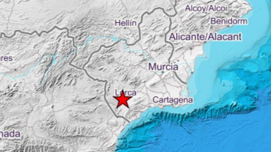 Lorca sufre un terremoto de 3,5 grados