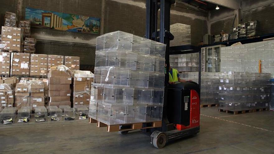La Generalitat licita por 200.000 euros las urnas destinadas al referéndum