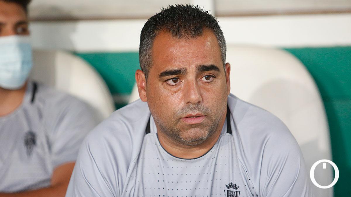Germán Crespo durante un partido en El Arcángel
