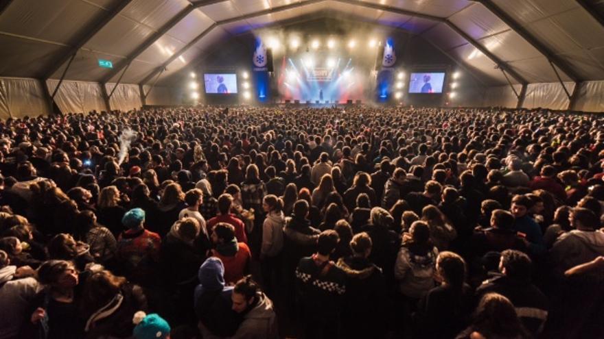 Un concierto del Festivern en 2016