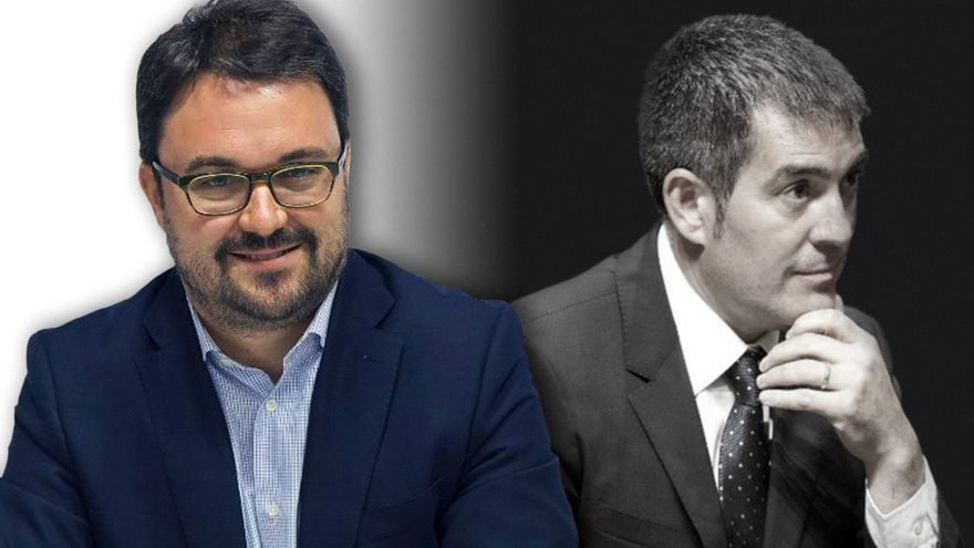Asier Antona y Fernando Clavijo.