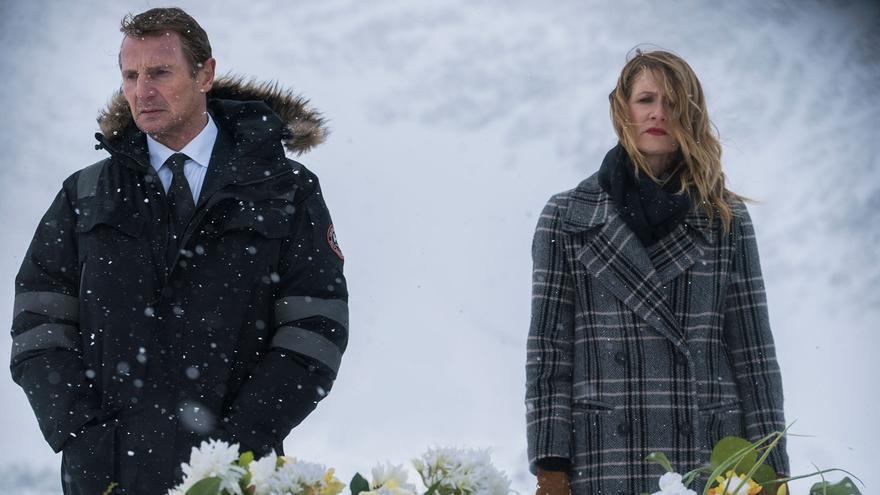 Liam Neeson como Nels Coxman en 'Venganza bajo cero'