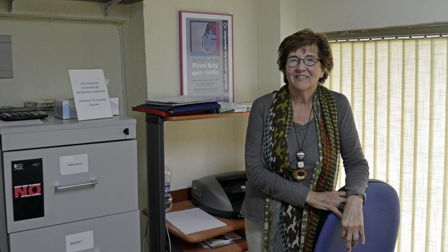 María Ángeles Ruiz Tagle, presidenta y precursora de la Asociación Consuelo Berges. B.S.A.