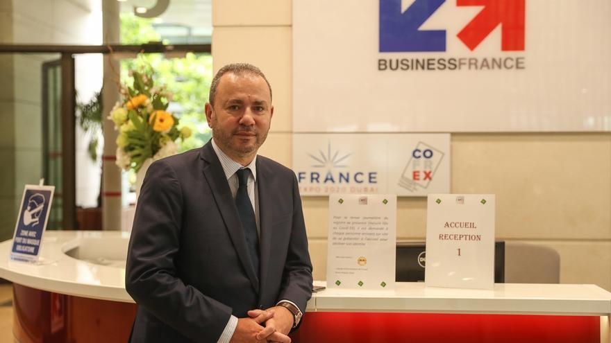 En la imagen, el director general de Business France, Christophe Lecourtier.