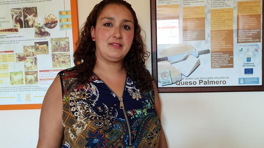 Saray Domínguez es la nueva presidenta de la Denominación de Origen Queso Palmero