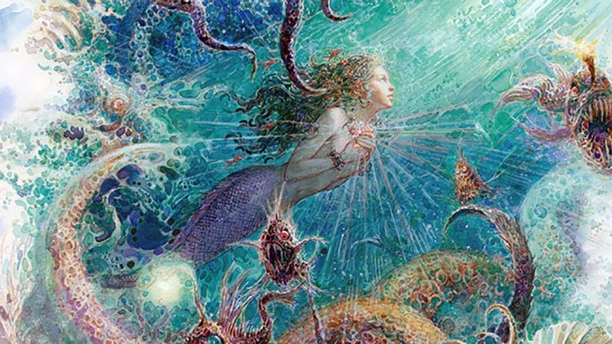 Ilustración de La Sirenita. (CC).