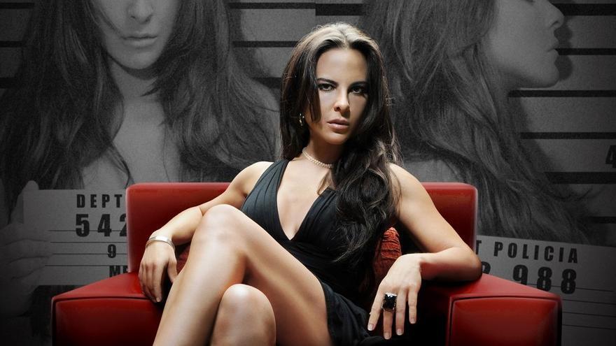 Kate del Castillo en el cartel promocional de 'La reina del sur'