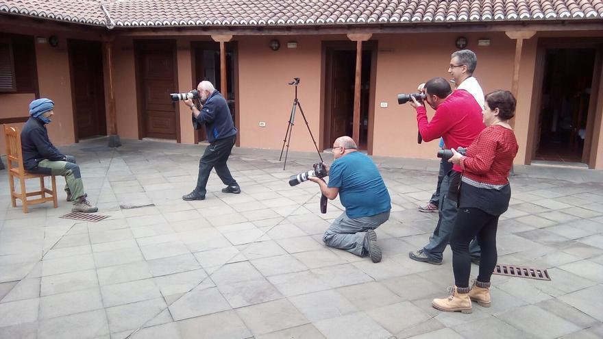 Fotógrafos participantes en Fotonature La Palma.
