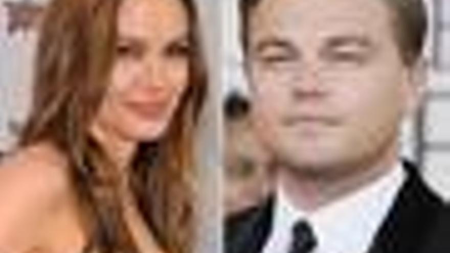 Angelina Jolie y Leonardo DiCaprio