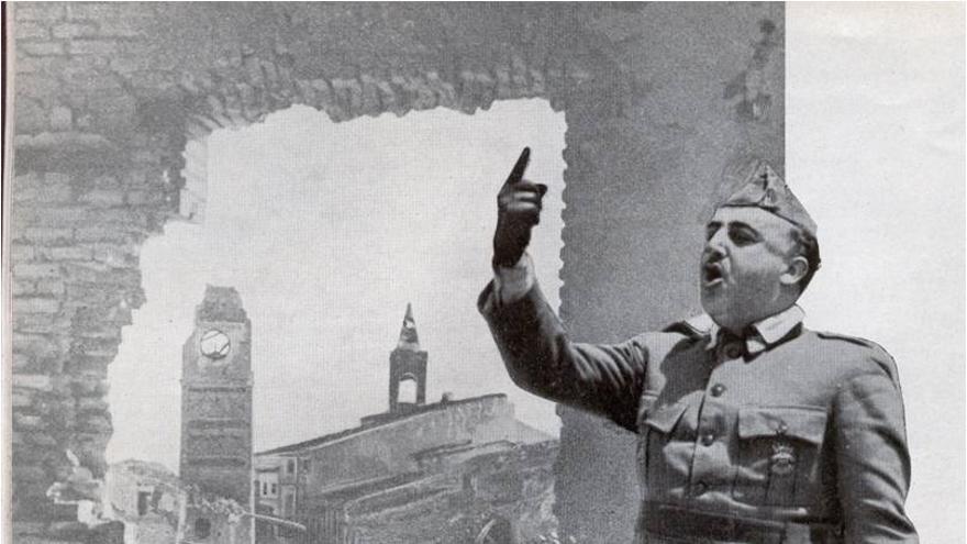 Franco utilizó la restauración para propagar su ideología