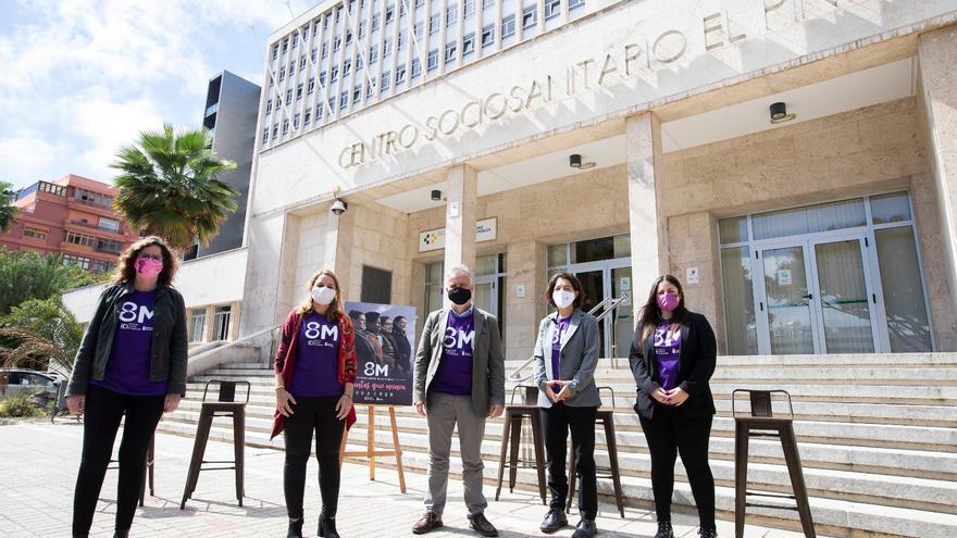 El Gobierno de Canarias apela en este 8M a la unidad de las redes femeninas para luchar por los derechos de las mujeres