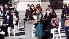 """La sanitaria que interviene en el homenaje a las víctimas de la pandemia exige a los poderes públicos """"que defiendan la sanidad de todos"""""""