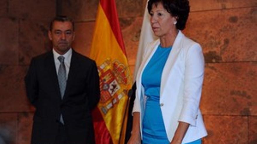 Inés Rojas, en la toma de posesión. (ACFI PRESS)