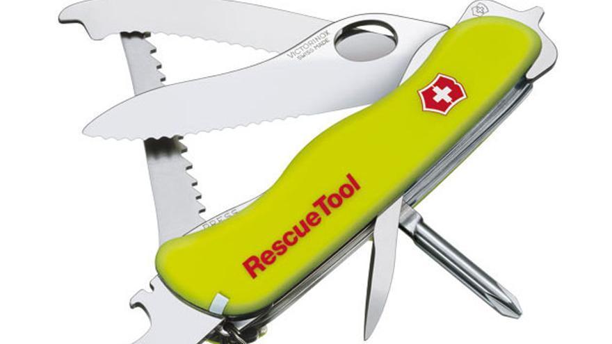 Concurso Victorinox, navaja RescueTool