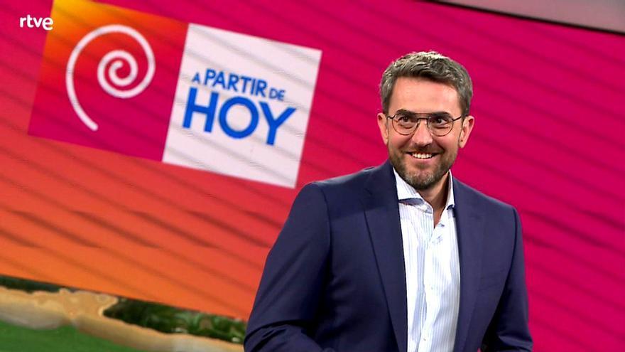 Tímido estreno de Máximo Huerta en las mañanas de TVE con un 5.9% de share