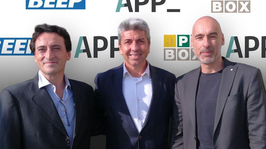 Los representantes de APP y Ticnova