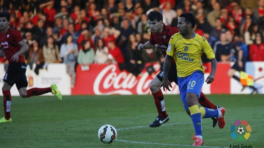 La UD Las Palmas pierde y cede su plaza de ascenso directo. Foto: web UD Las Palmas