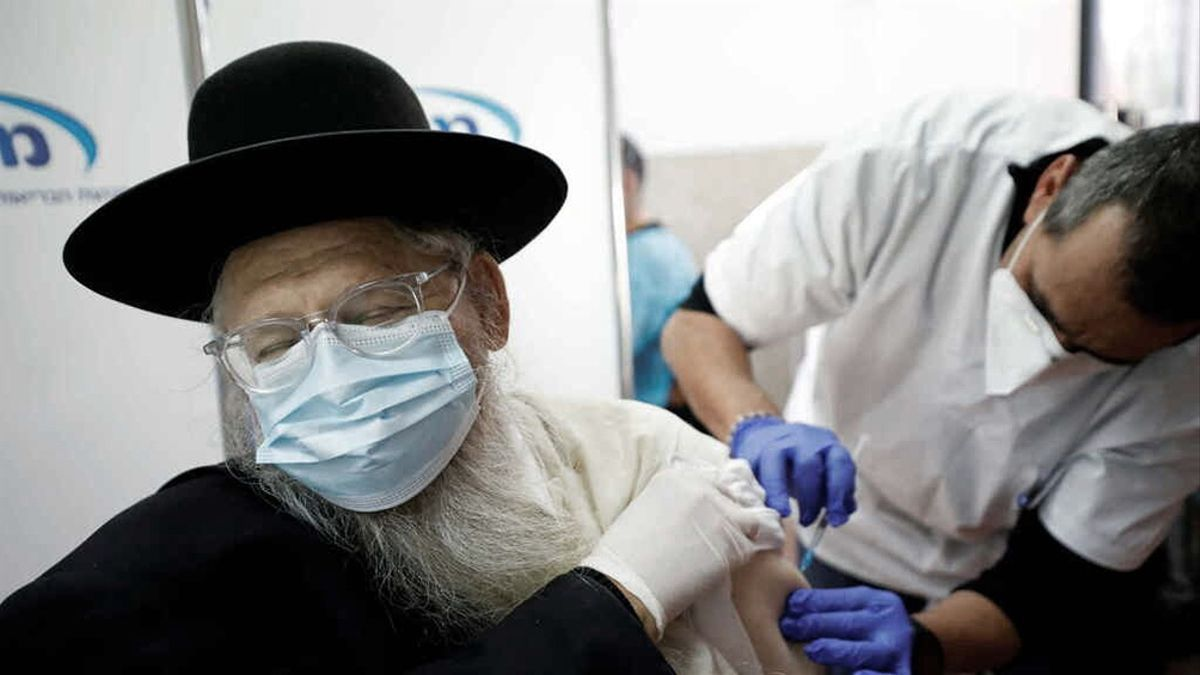 Israel es uno de los países que más ciudadanos vacunó contra el coronavirus