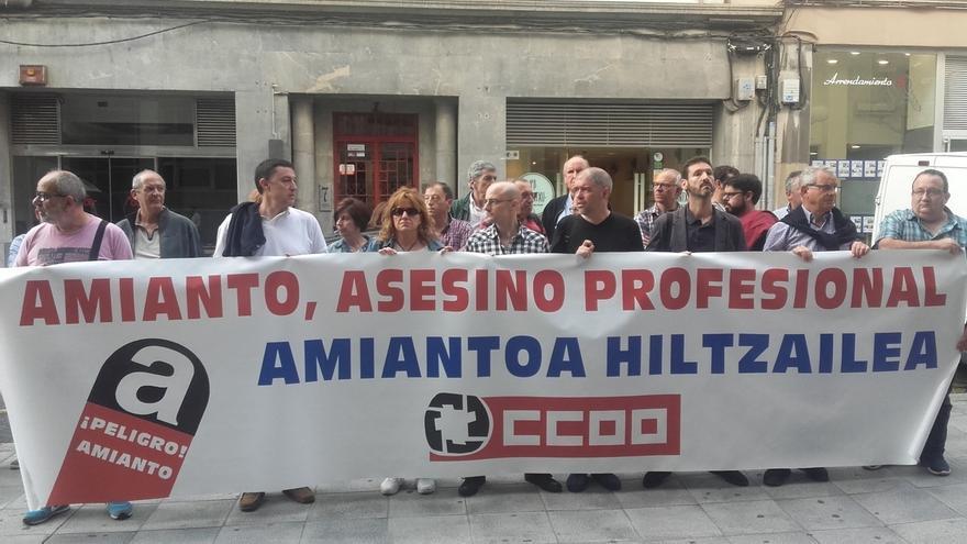 Unai Sordo reivindica el trabajo de CCOO de Euskadi contra las enfermedades profesionales y los accidentes de trabajo