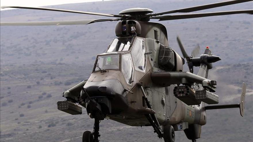 """Llegan a España los helicópteros """"Tigre"""", desplegados en Afganistán en marzo"""