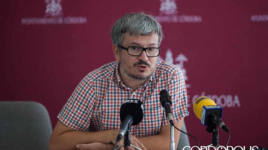 Alberto de los Ríos, concejal de Ganemos.