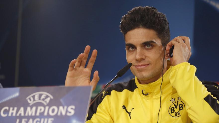 El jugador del Borussia de Dortmund Marc Bartra