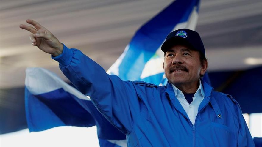 """Ortega asegura que los """"actos criminales"""" no se volverán a repetir en Nicaragua"""
