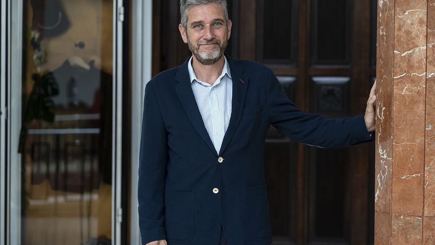 Javier Ceruti, portavoz de Ciudadanos en Santander. |