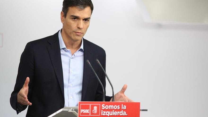 Sánchez llama a no participar en un proceso antidemocrático y a  independentistas a recuperar la senda de la Ley