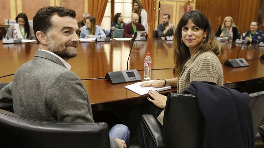 Teresa Rodríguez dice que la federalización de Podemos Andalucía no tiene marcha atrás
