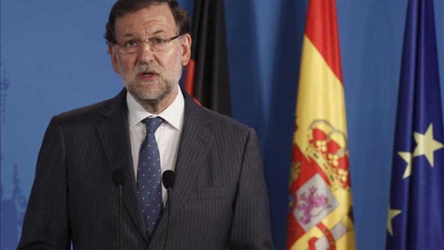 "Rajoy asegura que ""no se va a hacer ningún referéndum ilegal"""