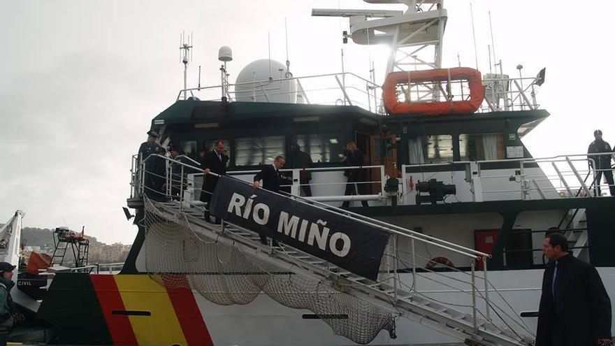 Arsenio Fernández de Mesa, a su llegada a Ceuta el pasado 12 de febrero.