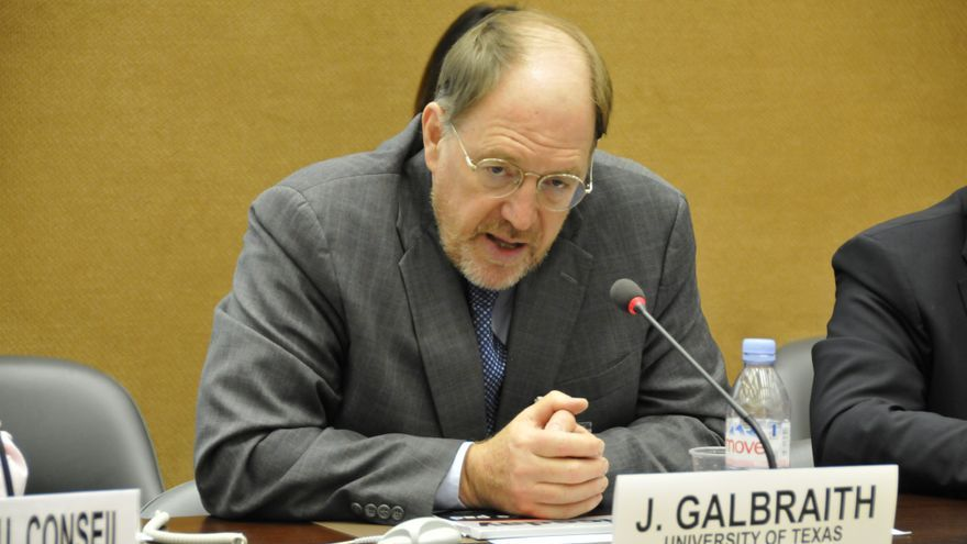 James K. Galbraith.