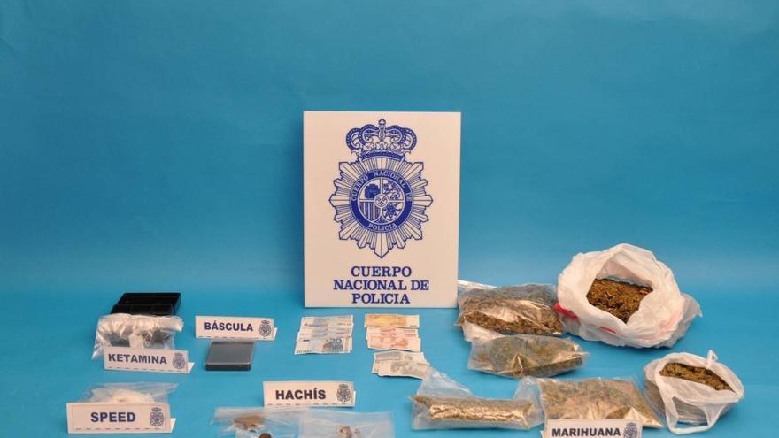 Detenidas dos personas y desmantelada una plantación de marihuana en una vivienda en Gorliz (Bizkaia)