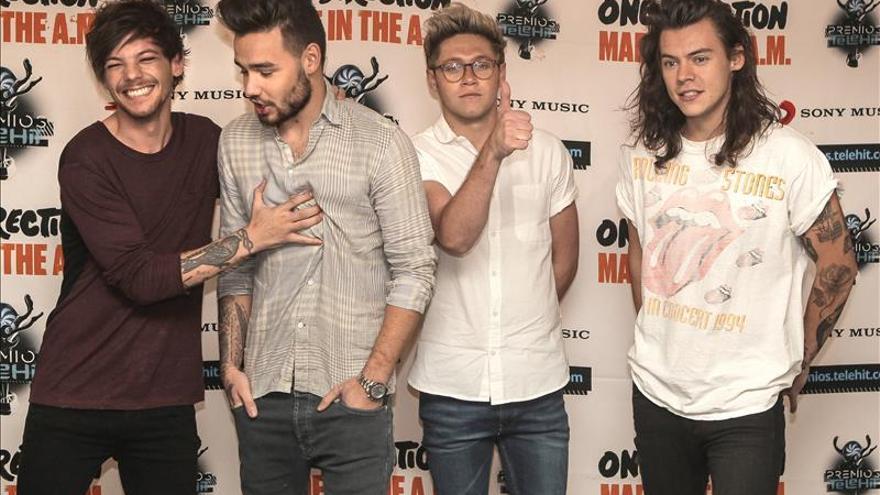 One Direction asegura que la clave de sus éxitos ha sido no esperar nada