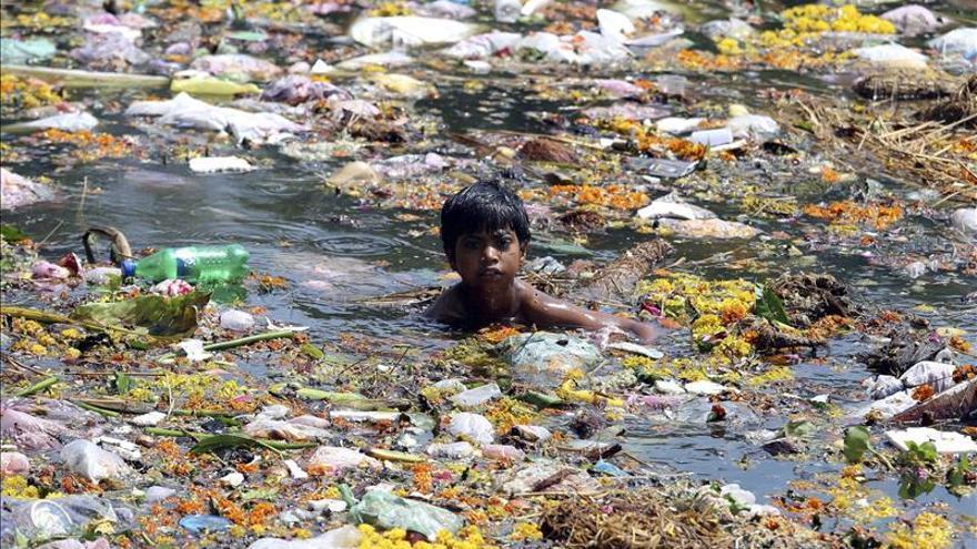 Modi lanza el primer índice de contaminación de la India
