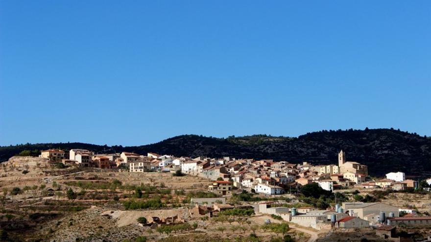 La cantera está en el término municipal de La Ginebrosa.