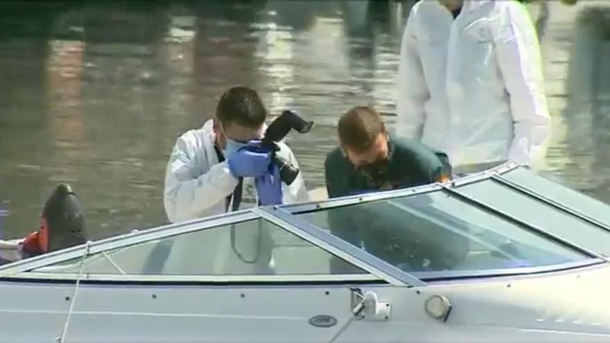 Los restos de sangre hallados en el barco son de Tomás Gimeno, desaparecido junto a sus dos hijas