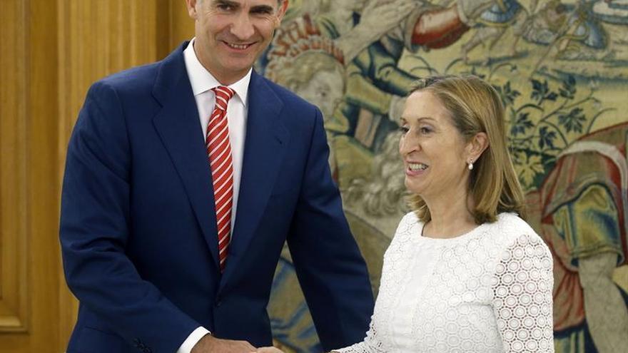 El Rey se reúne hoy con Pastor tras la investidura fallida de Rajoy